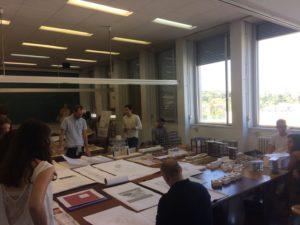 バルセロナ建築大学の授業風景