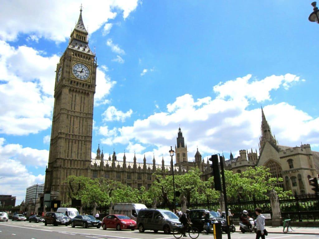 ロンドンキャリアフォーラム(London Career Forum)の行われるロンドンの時計塔の写真