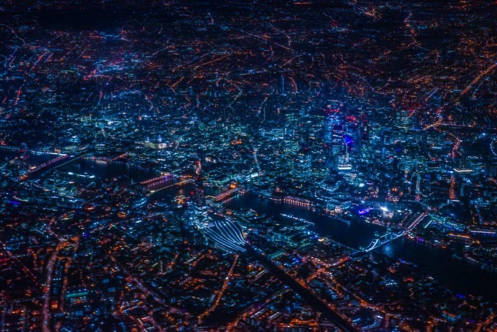 ロンドンの夜景の写真
